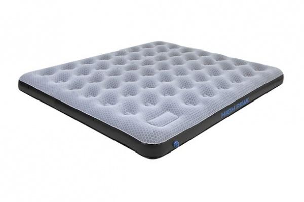 HIGH PEAK - Luftbett Comfort Plus King, grau/blau/schwarz