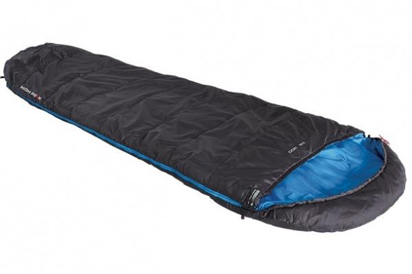 HIGH PEAK - TR 300 - L Schlafsack 230 x 85 cm, anthrazit / blau