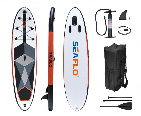 Seaflo SUP Board Stand Up Set 10, aufblasbar