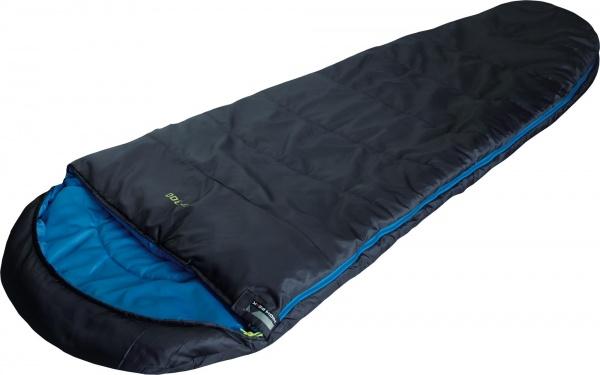 HIGH PEAK - TR 300 - R Schlafsack 230 x 85 cm, anthrazit / blau