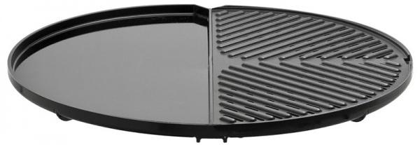 CADAC - BBQ / Plancha, Grillplatte (glatt/geriffelt) für Carri Chef 2 und Citi Chef 50, 46 cm