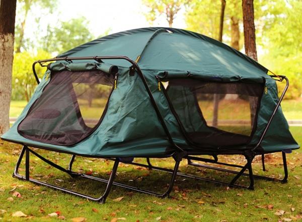 Off-Boden Einzel-Multifunktionszelt für Camping, Reise, Angeln und Picknick
