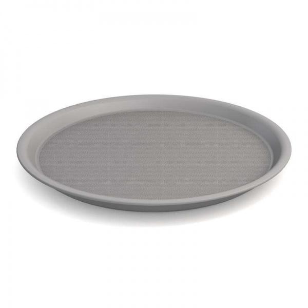 Ornamin-Tablett, Ø 37 cm, silber